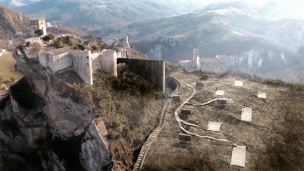 Roccascalegna Observatory Houses